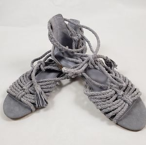 New JOIE Falk ankle tie sandals